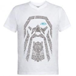 Купить Мужская футболка с V-образным вырезом Go To War 2, FatLine