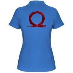 Жіноча футболка поло God Of War Circle