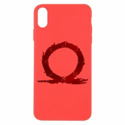 Чохол для iPhone X/Xs God Of War Circle