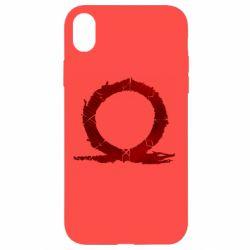 Чохол для iPhone XR God Of War Circle