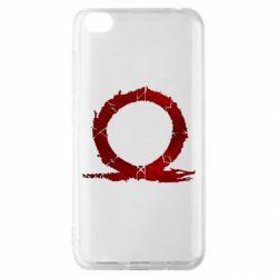 Чехол для Xiaomi Redmi Go God Of War Circle