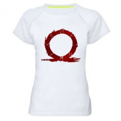 Жіноча спортивна футболка God Of War Circle