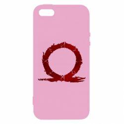 Чохол для iphone 5/5S/SE God Of War Circle