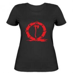 Жіноча футболка God Of War Logo
