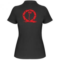 Жіноча футболка поло God Of War Logo