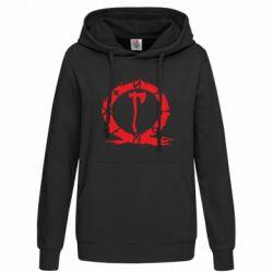 Толстовка жіноча God Of War Logo