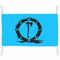 Прапор God Of War Logo