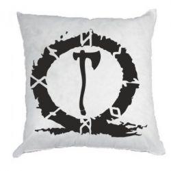Подушка God Of War Logo