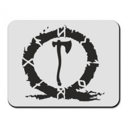 Килимок для миші God Of War Logo
