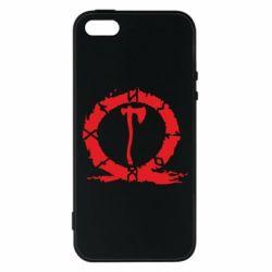 Чохол для iphone 5/5S/SE God Of War Logo