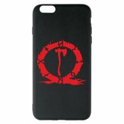 Чохол для iPhone 6 Plus/6S Plus God Of War Logo