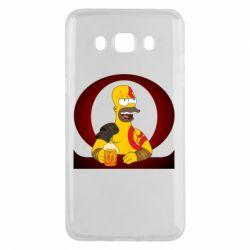 Чохол для Samsung J5 2016 God of war: Simpson