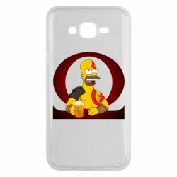 Чохол для Samsung J7 2015 God of war: Simpson