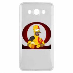 Чохол для Samsung J7 2016 God of war: Simpson