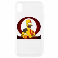 Чохол для iPhone XR God of war: Simpson