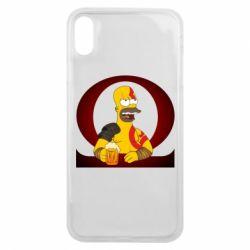 Чохол для iPhone Xs Max God of war: Simpson