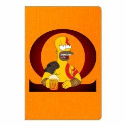Блокнот А5 God of war: Simpson