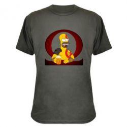 Камуфляжна футболка God of war: Simpson