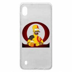 Чохол для Samsung A10 God of war: Simpson