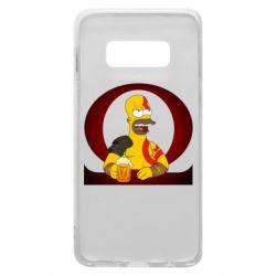 Чохол для Samsung S10e God of war: Simpson