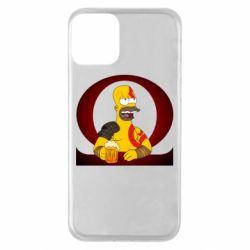 Чохол для iPhone 11 God of war: Simpson