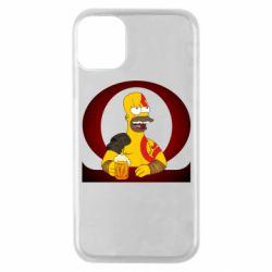 Чохол для iPhone 11 Pro God of war: Simpson