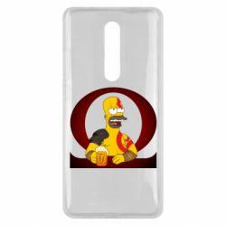 Чехол для Xiaomi Mi9T God of war: Simpson