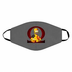 Маска для обличчя God of war: Simpson