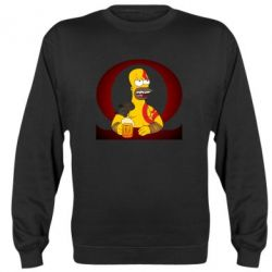 Реглан (світшот) God of war: Simpson