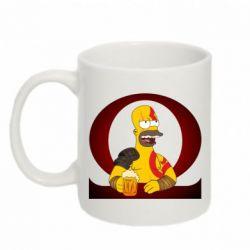 Кружка 320ml God of war: Simpson