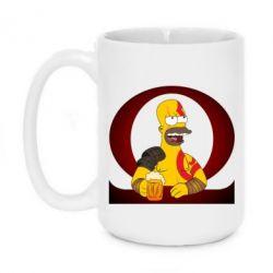 Кружка 420ml God of war: Simpson