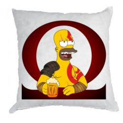 Подушка God of war: Simpson