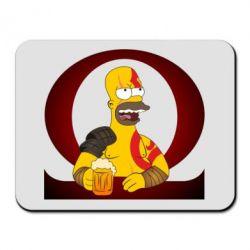 Килимок для миші God of war: Simpson