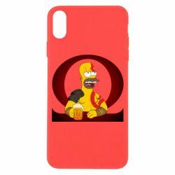 Чохол для iPhone X/Xs God of war: Simpson