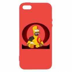 Чохол для iphone 5/5S/SE God of war: Simpson