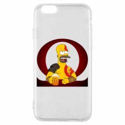 Чохол для iPhone 6/6S God of war: Simpson