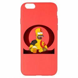 Чохол для iPhone 6 Plus/6S Plus God of war: Simpson