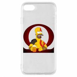Чохол для iPhone 8 God of war: Simpson