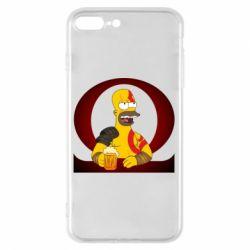 Чохол для iPhone 8 Plus God of war: Simpson