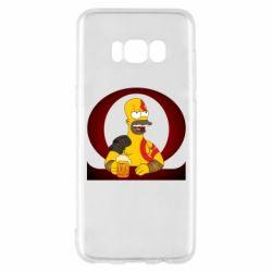 Чохол для Samsung S8 God of war: Simpson