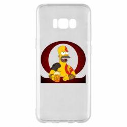 Чохол для Samsung S8+ God of war: Simpson