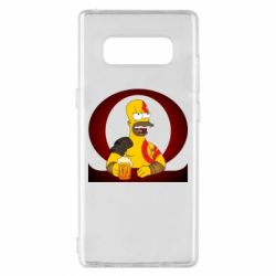 Чохол для Samsung Note 8 God of war: Simpson