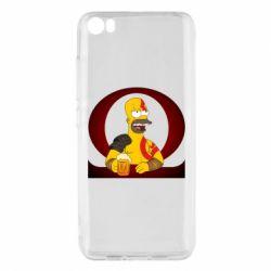 Чехол для Xiaomi Mi5/Mi5 Pro God of war: Simpson