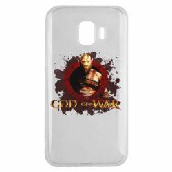 Чохол для Samsung J2 2018 God of War