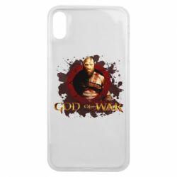 Чохол для iPhone Xs Max God of War
