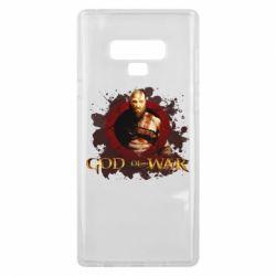 Чохол для Samsung Note 9 God of War