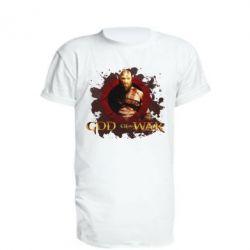 Подовжена футболка God of War
