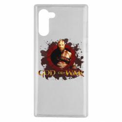 Чохол для Samsung Note 10 God of War