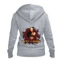 Жіноча толстовка на блискавці God of War
