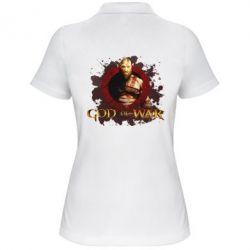 Жіноча футболка поло God of War